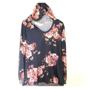 Sese code floral sweater 2xl